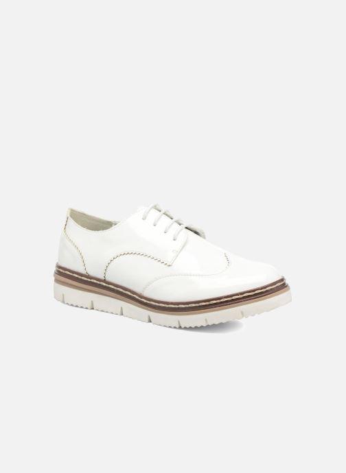 Chaussures à lacets I Love Shoes thalweg Blanc vue détail/paire