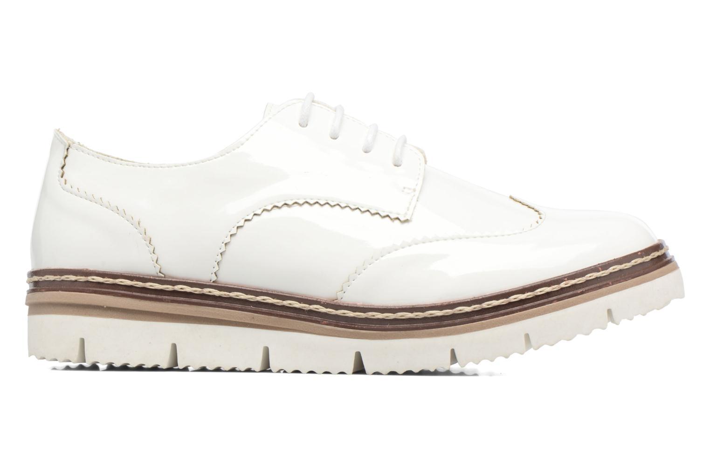 Schnürschuhe I Love Shoes thalweg weiß ansicht von hinten