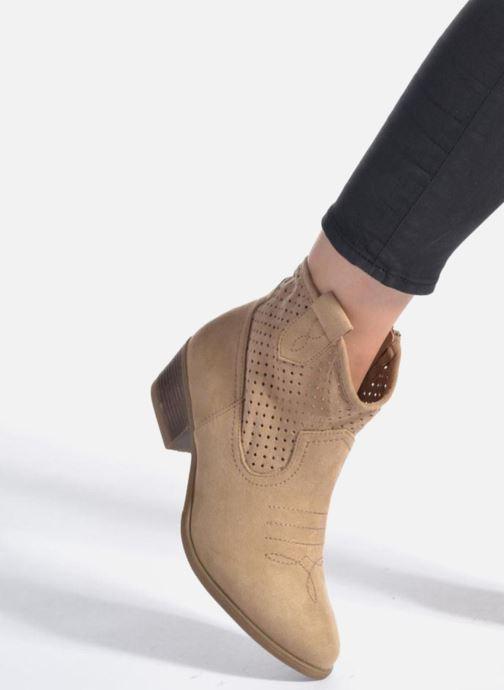 Bottines et boots I Love Shoes thunbin Beige vue bas / vue portée sac