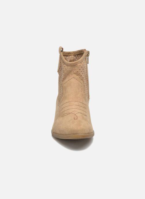 Botines  I Love Shoes thunbin Beige vista del modelo