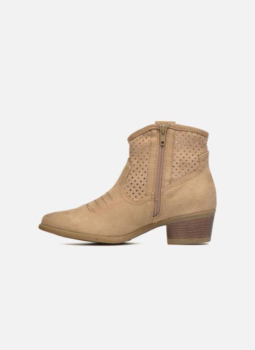 Botines  I Love Shoes thunbin Beige vista de frente