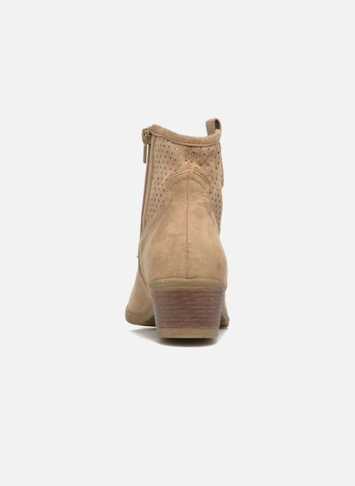 Botines  I Love Shoes thunbin Beige vista lateral derecha