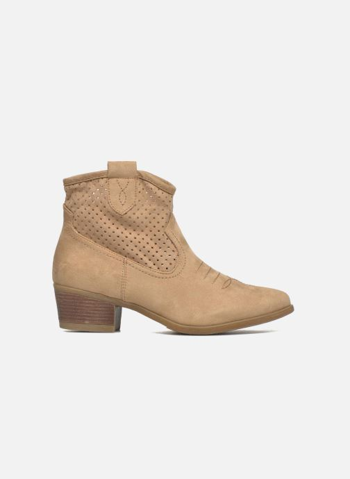 Ankle boots I Love Shoes thunbin Beige back view