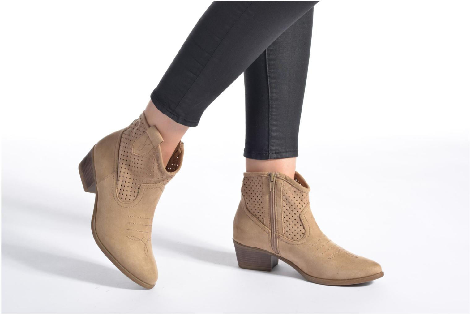 Ankle boots I Love Shoes thunbin Beige view from underneath / model view