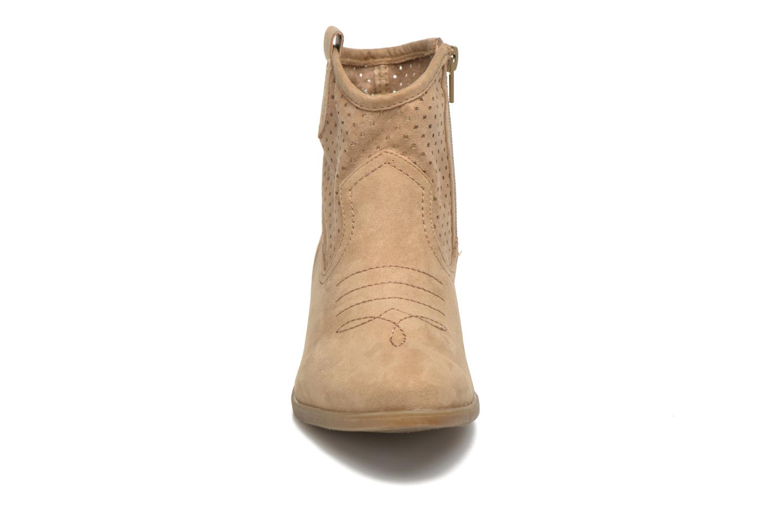 Ankle boots I Love Shoes thunbin Beige model view
