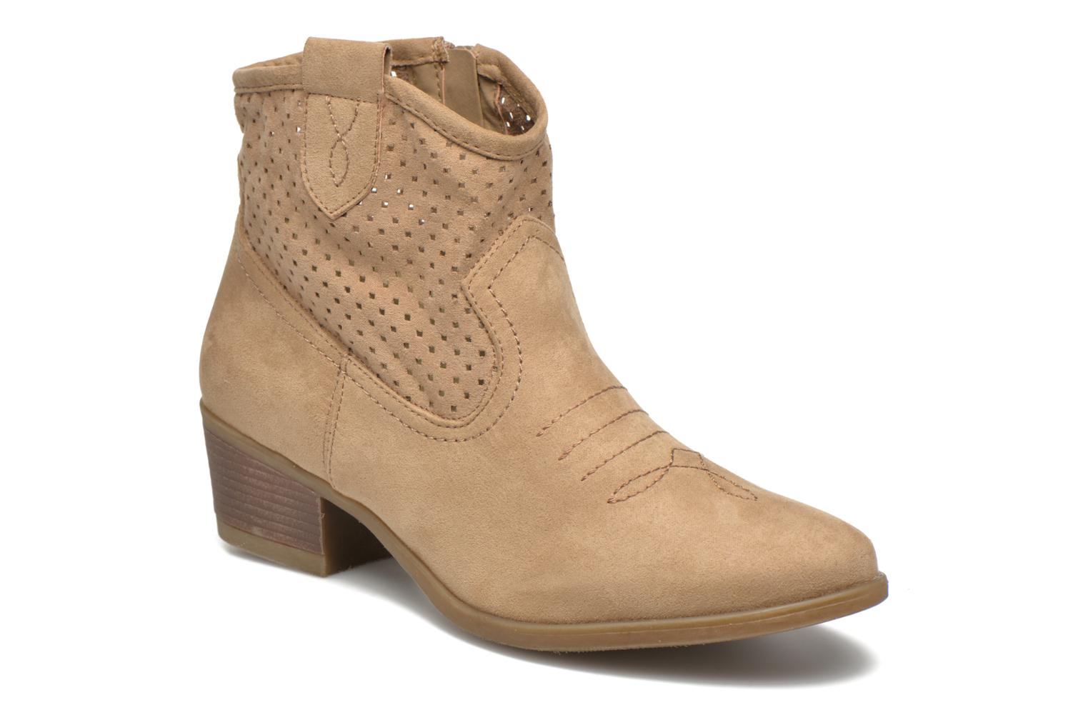 Ankle boots I Love Shoes thunbin Beige detailed view/ Pair view