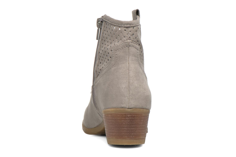 Botines  I Love Shoes thunbin Gris vista lateral derecha