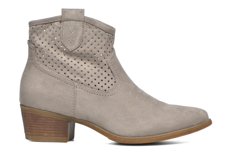 Botines  I Love Shoes thunbin Gris vistra trasera