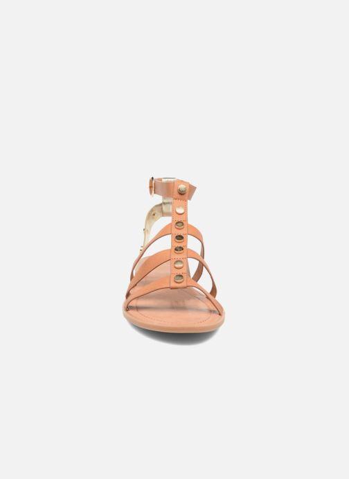 Sandales et nu-pieds I Love Shoes THEAHIGHT Marron vue portées chaussures