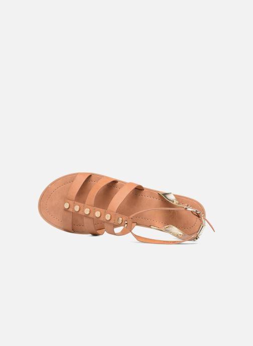 Sandales et nu-pieds I Love Shoes THEAHIGHT Marron vue gauche