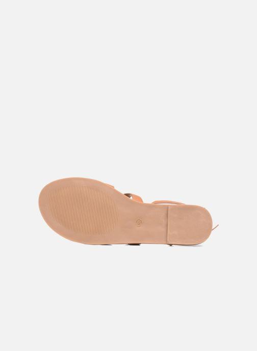 Sandales et nu-pieds I Love Shoes THEAHIGHT Marron vue haut