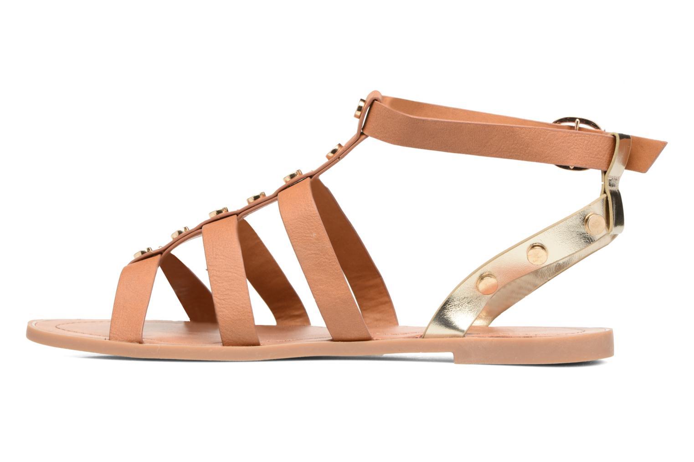 Sandales et nu-pieds I Love Shoes THEAHIGHT Marron vue face