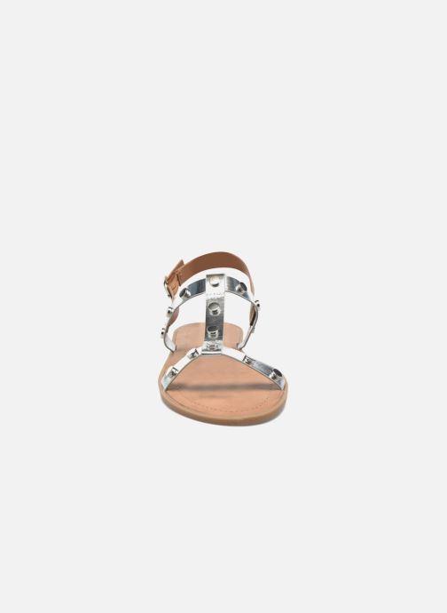 Sandali e scarpe aperte I Love Shoes THEA Argento modello indossato