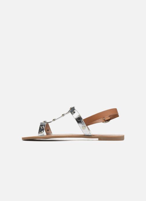 Sandales et nu-pieds I Love Shoes THEA Argent vue face