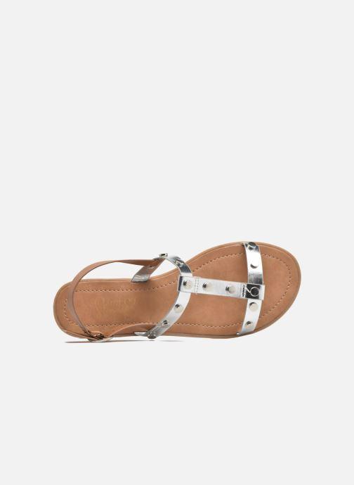 Sandalias I Love Shoes THEA Plateado vista lateral izquierda