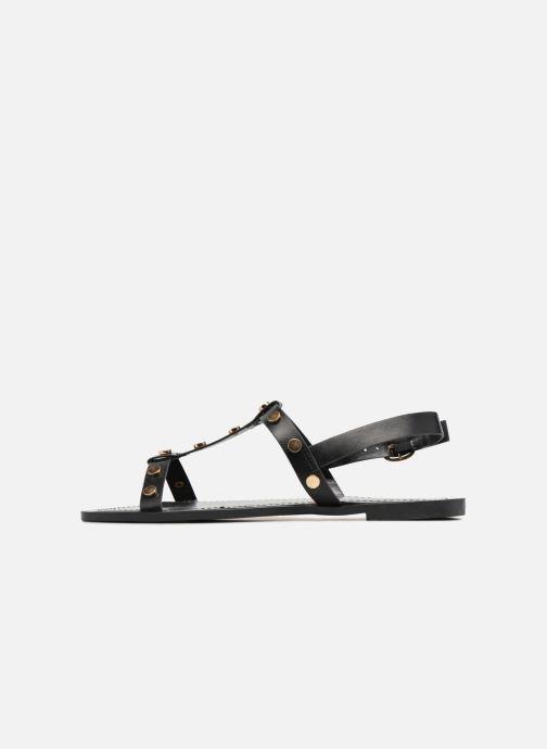 Sandales et nu-pieds I Love Shoes THEA Noir vue face