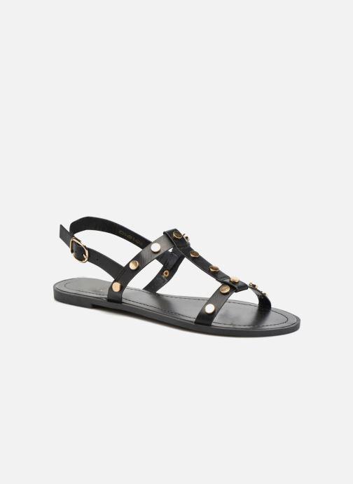 Sandales et nu-pieds I Love Shoes THEA Noir vue détail/paire