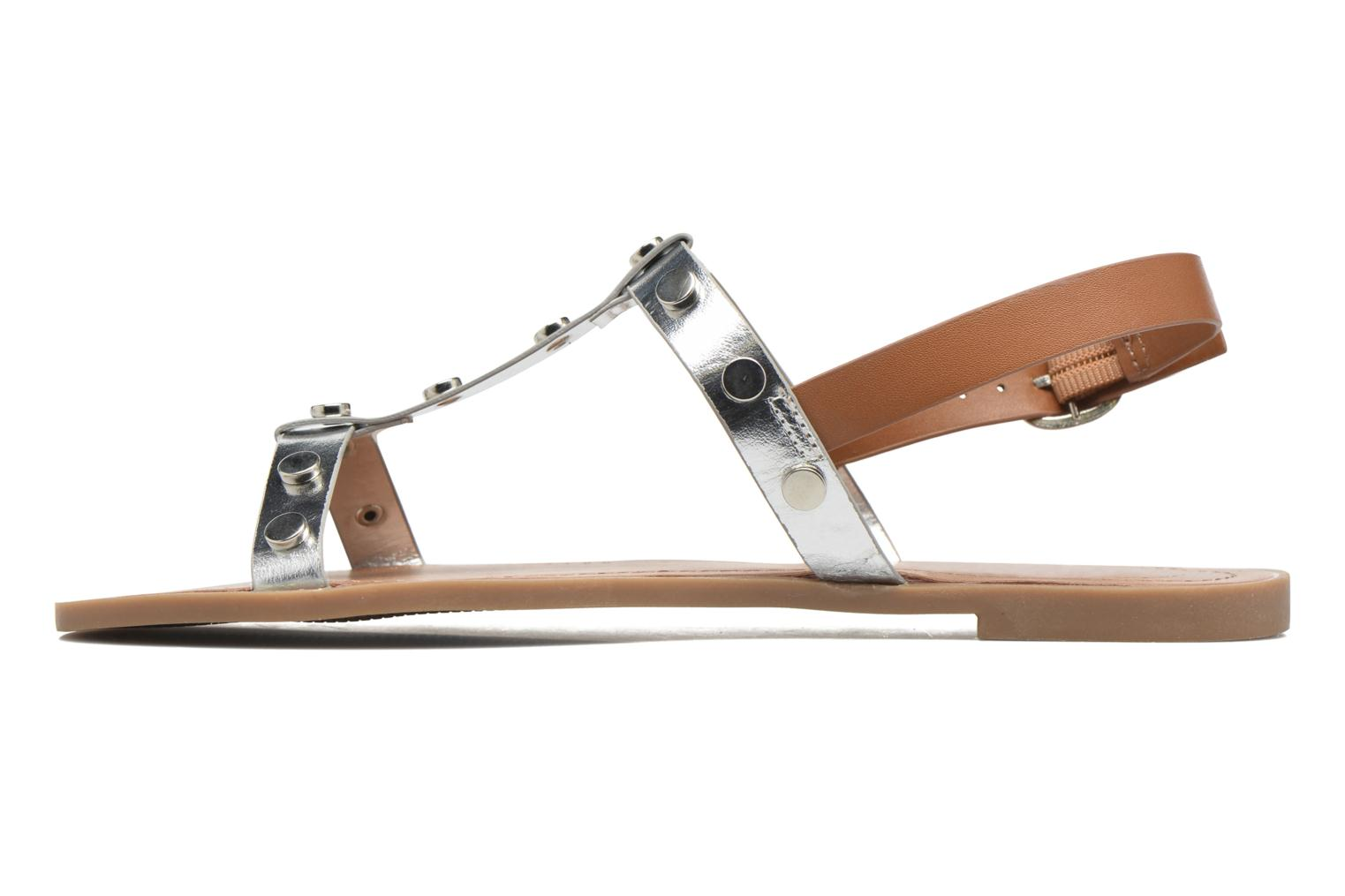 Sandals I Love Shoes THEA Silver front view