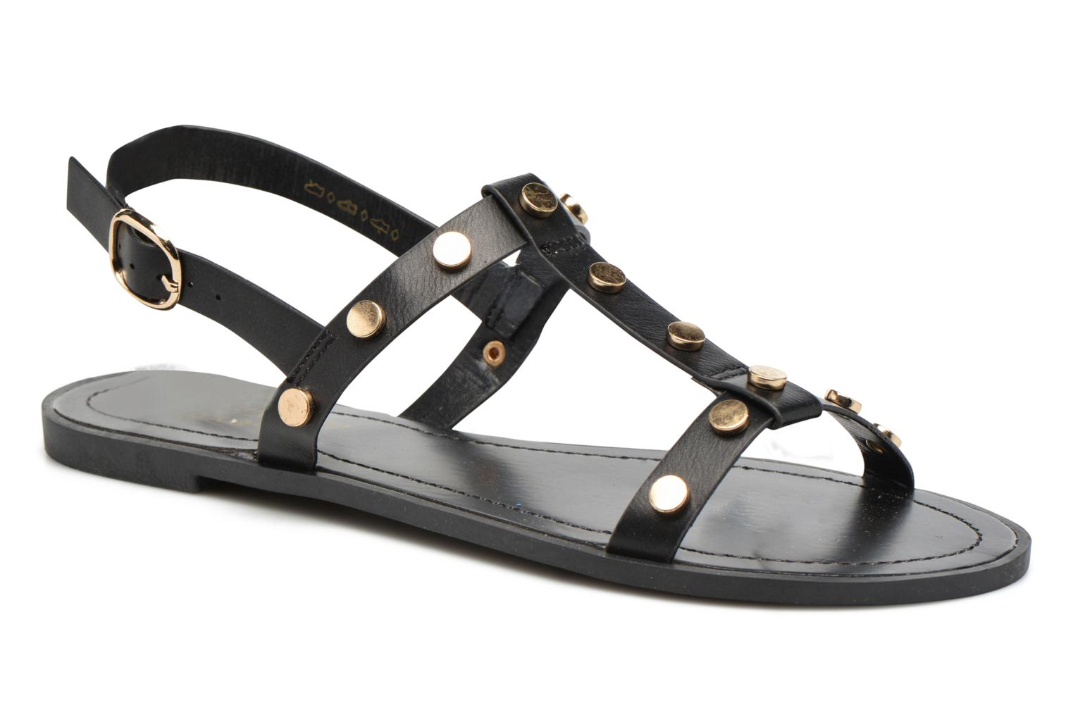 Sandals I Love Shoes THEA Black detailed view/ Pair view