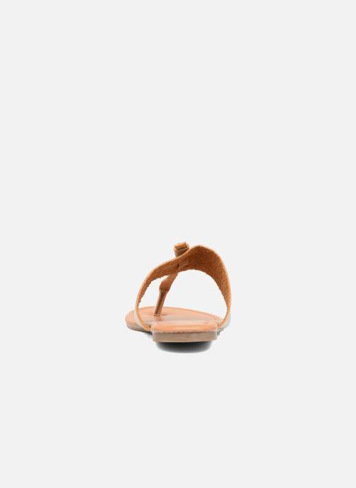 Sandales et nu-pieds I Love Shoes THIVUS Or et bronze vue droite