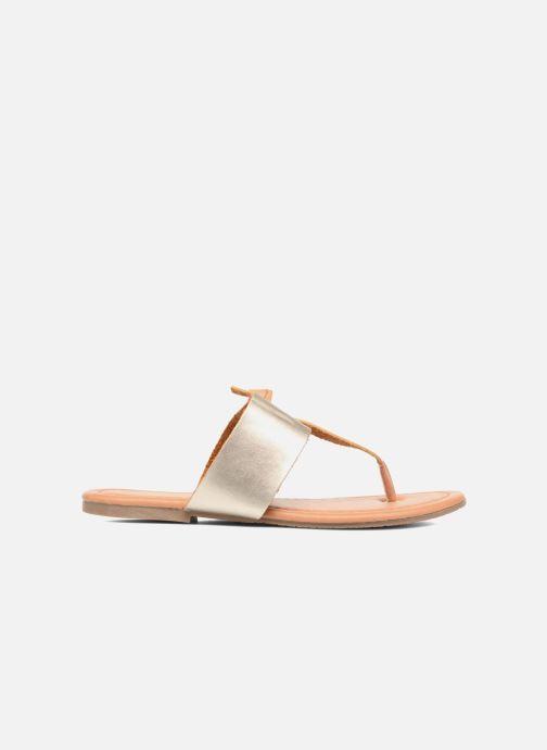 Sandales et nu-pieds I Love Shoes THIVUS Or et bronze vue derrière
