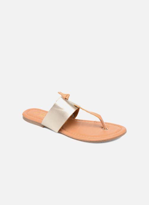 Sandales et nu-pieds I Love Shoes THIVUS Or et bronze vue détail/paire