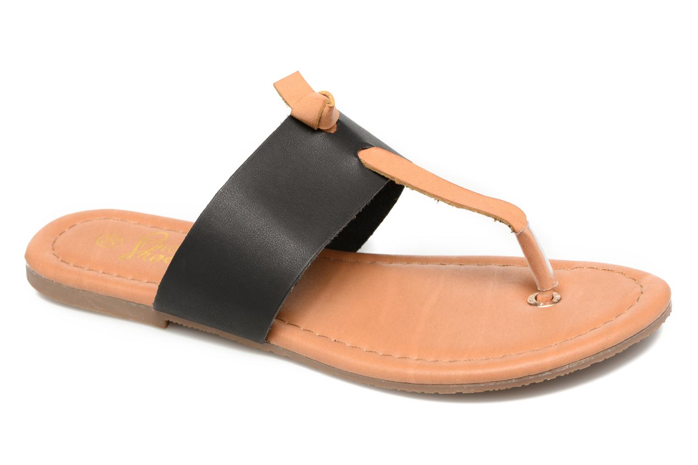 Sandals I Love Shoes THIVUS Black detailed view/ Pair view