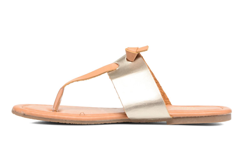 Sandalen I Love Shoes THIVUS gold/bronze ansicht von vorne