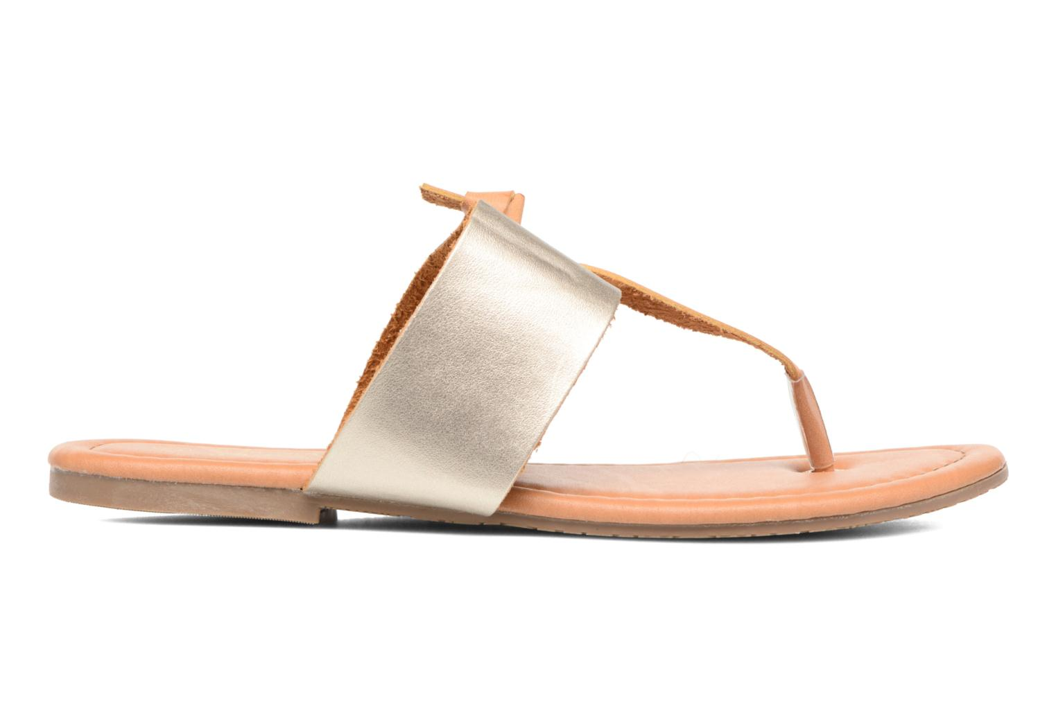 Sandals I Love Shoes THIVUS Bronze and Gold back view