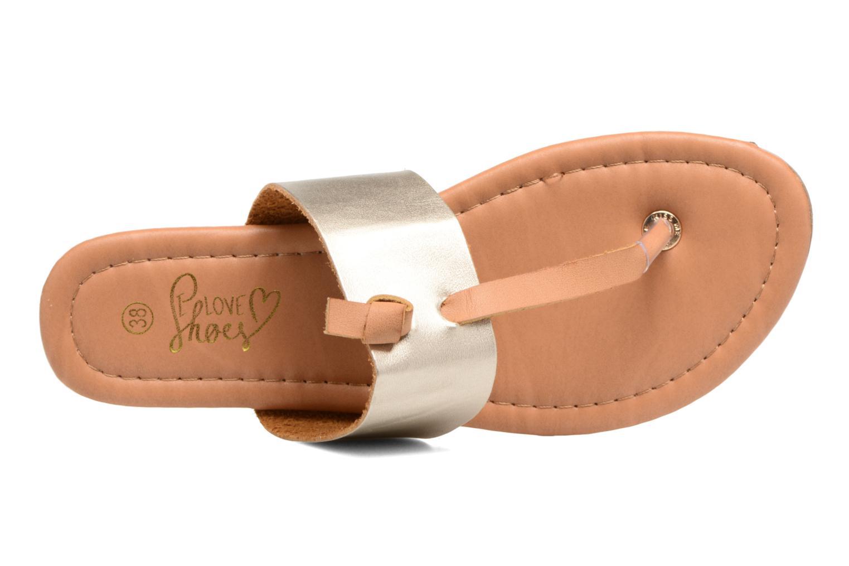 Sandalen I Love Shoes THIVUS Goud en brons links