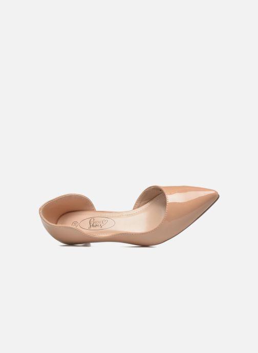 Escarpins I Love Shoes THETA Rose vue gauche