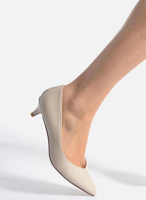 Escarpins I Love Shoes THORA Beige vue bas / vue portée sac