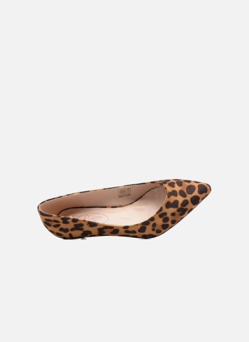 Zapatos de tacón I Love Shoes THORA Marrón vista lateral izquierda