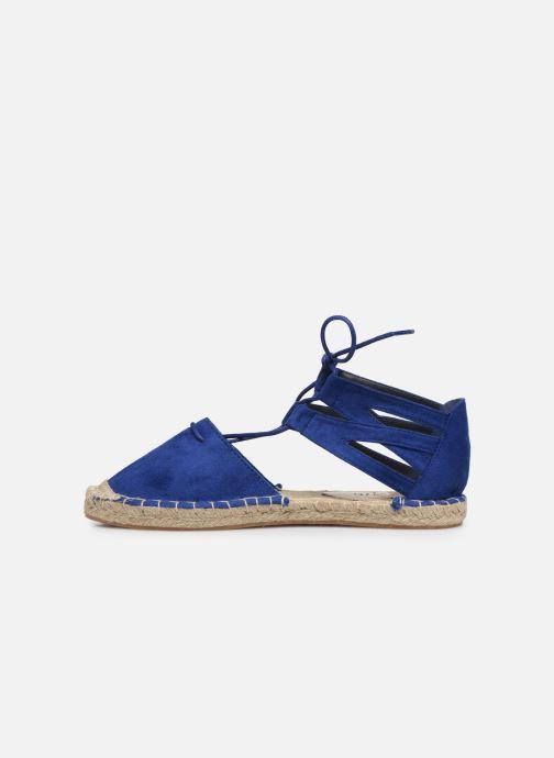 Espadrilles I Love Shoes THYADE Bleu vue face