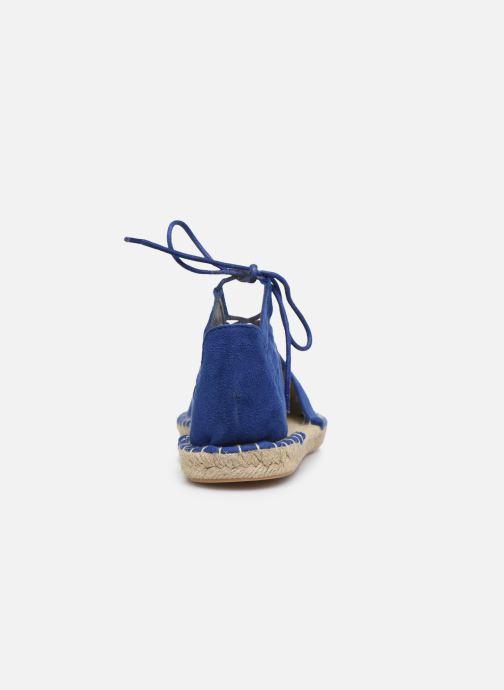 Espadrilles I Love Shoes THYADE Bleu vue droite