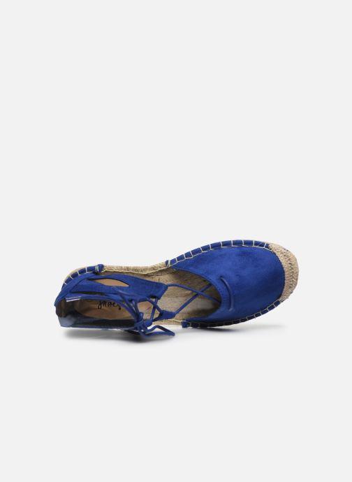 Espadrilles I Love Shoes THYADE Bleu vue gauche