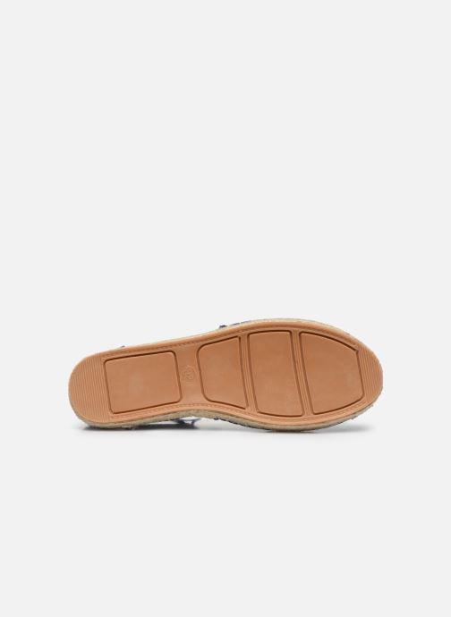 Espadrilles I Love Shoes THYADE Bleu vue haut