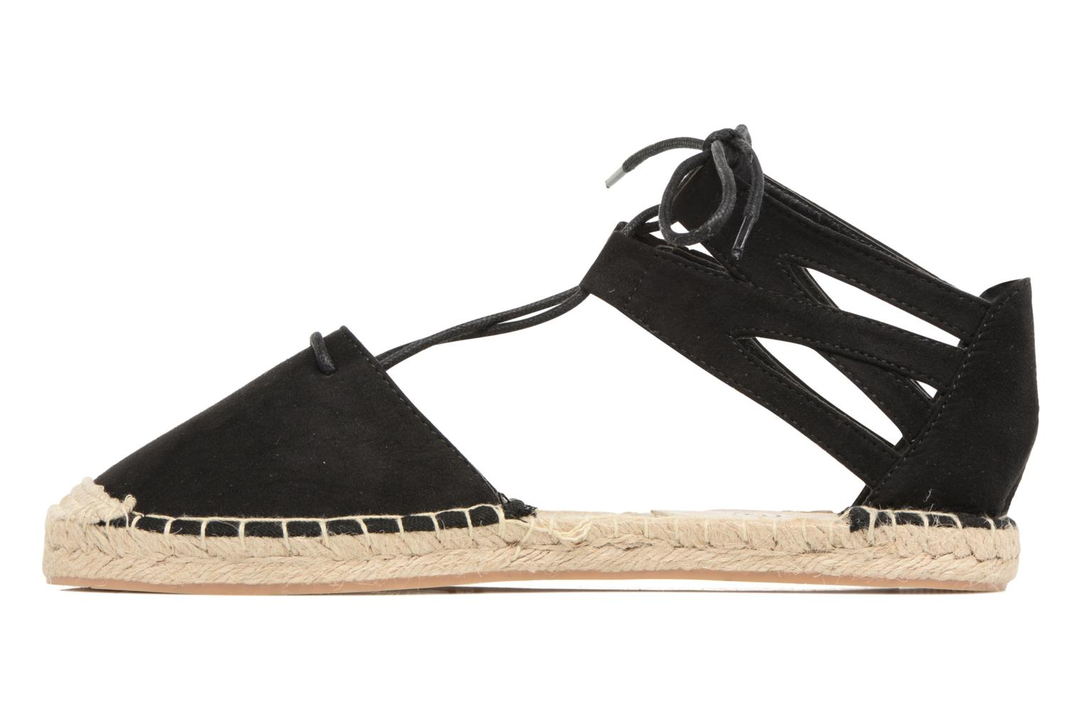 Espadrilles I Love Shoes THYADE Black front view