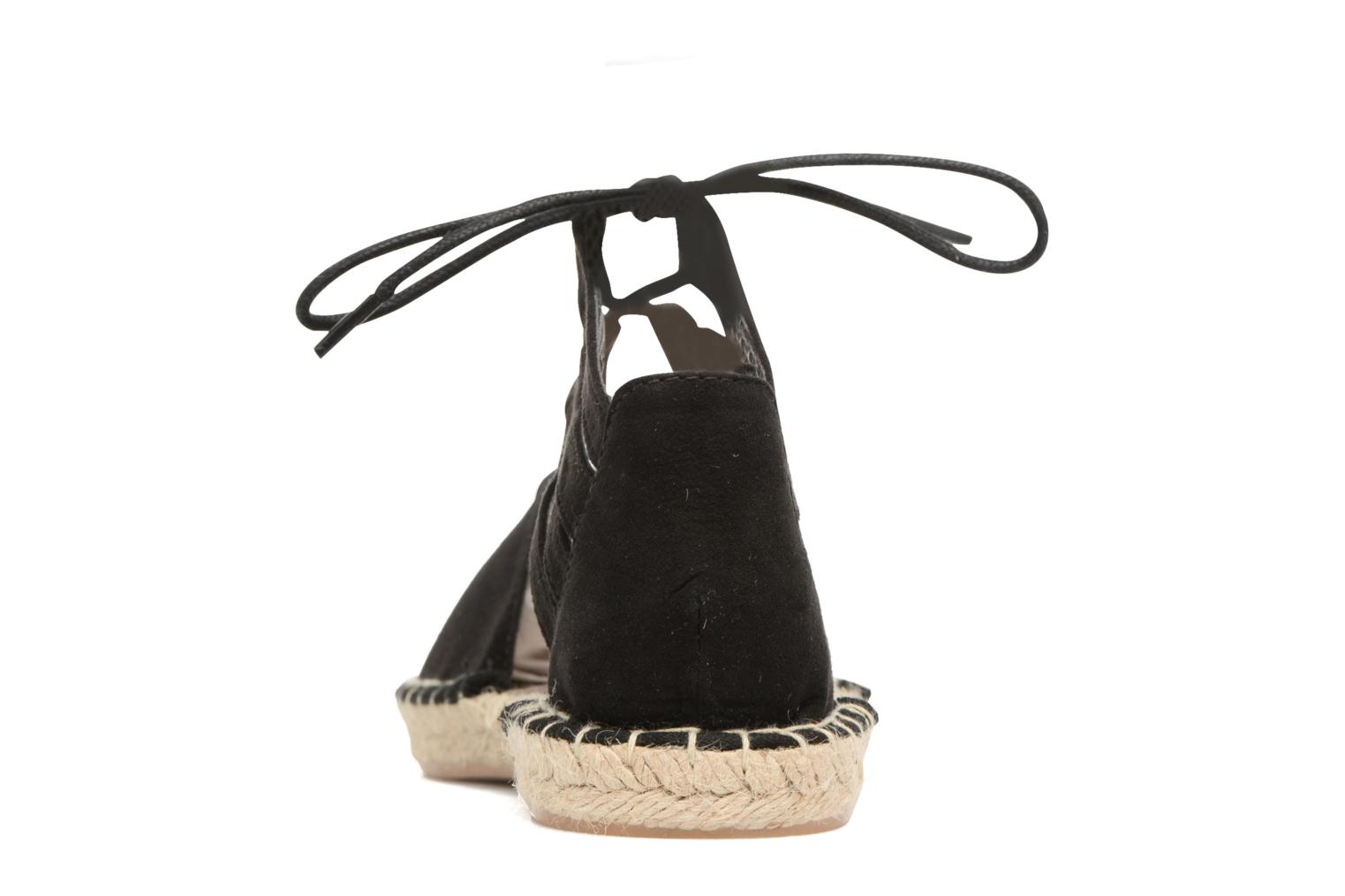 Espadrilles I Love Shoes THYADE Black view from the right