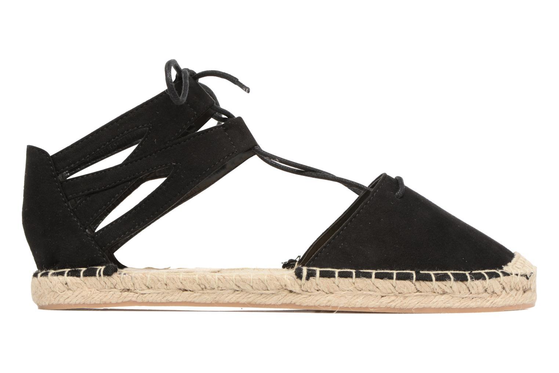 Espadrilles I Love Shoes THYADE schwarz ansicht von hinten