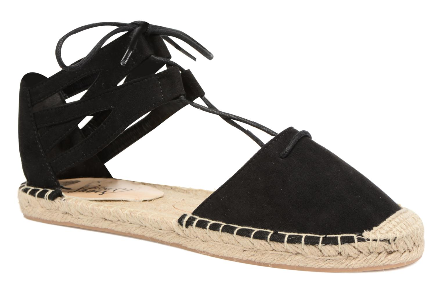 Espadrilles I Love Shoes THYADE Zwart detail