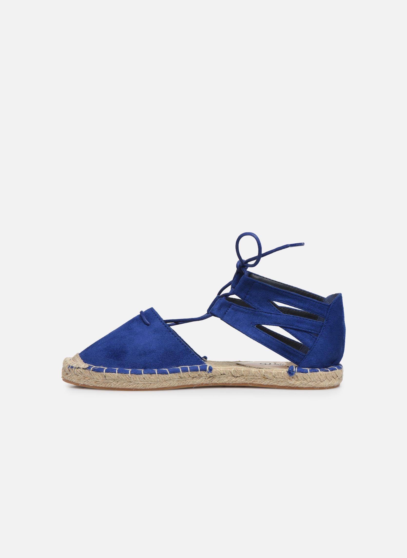 Alpargatas I Love Shoes THYADE Azul vista de frente