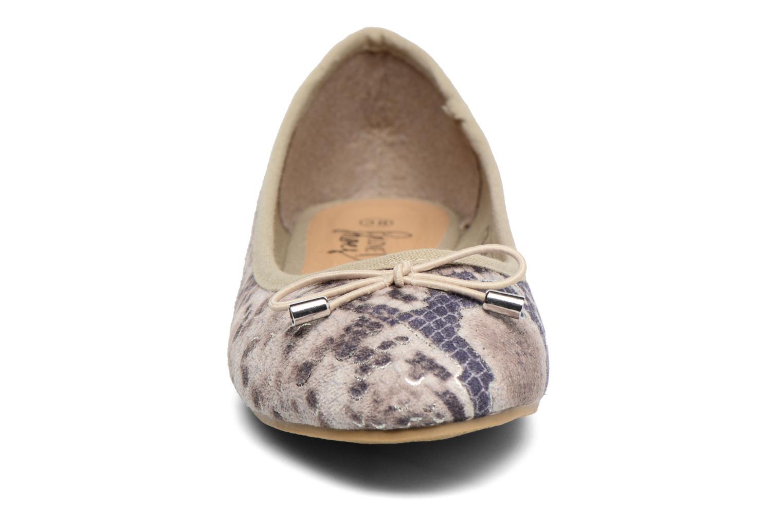 Bailarinas I Love Shoes THENSELY Beige vista del modelo
