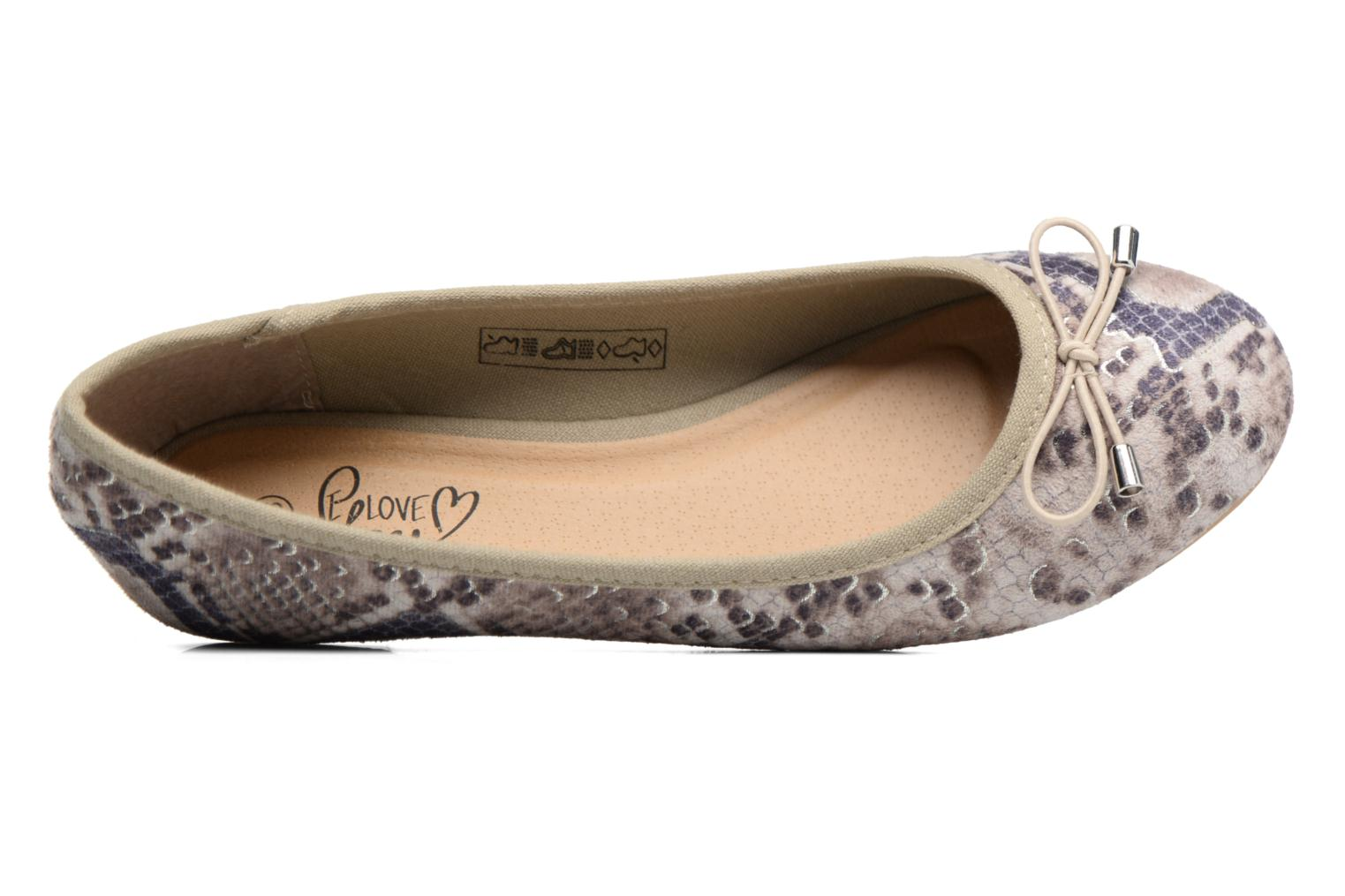 Ballerina's I Love Shoes THENSELY Beige links