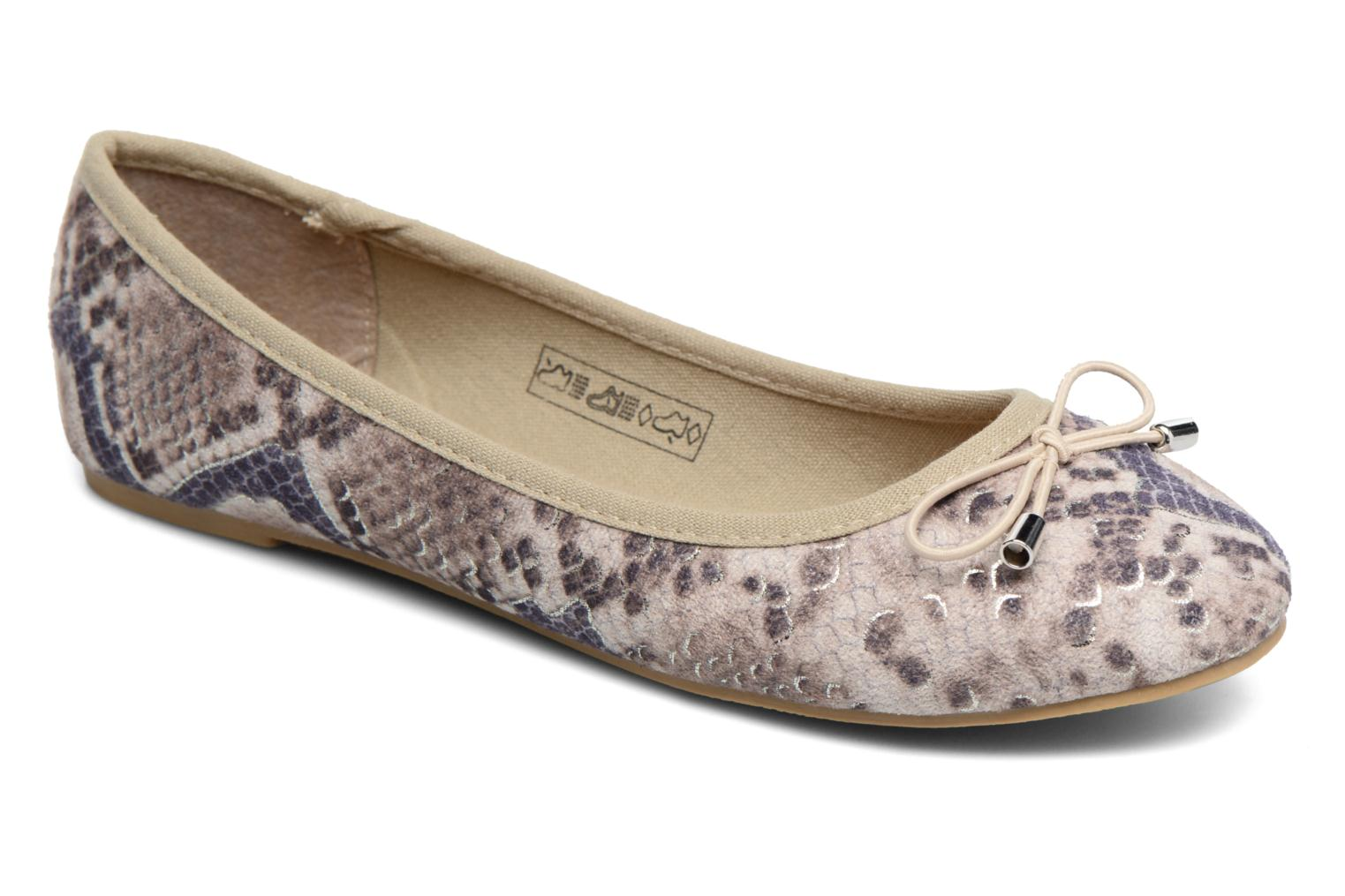 Ballerina's I Love Shoes THENSELY Beige detail