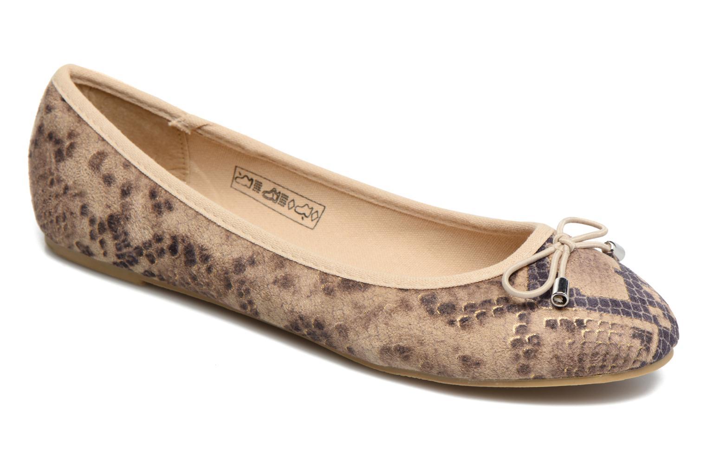 Ballerines I Love Shoes THENSELY Beige vue détail/paire