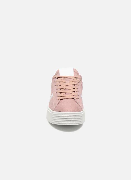 Baskets I Love Shoes THEMI Rose vue portées chaussures