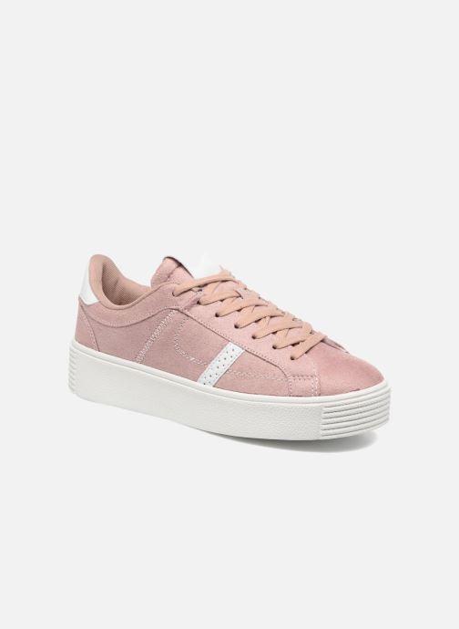 Baskets I Love Shoes THEMI Rose vue détail/paire