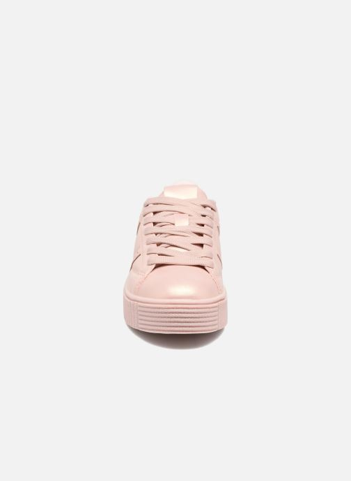 Baskets I Love Shoes THOMI Rose vue portées chaussures