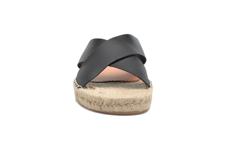 Sandales et nu-pieds Gioseppo Ateneo Noir vue portées chaussures